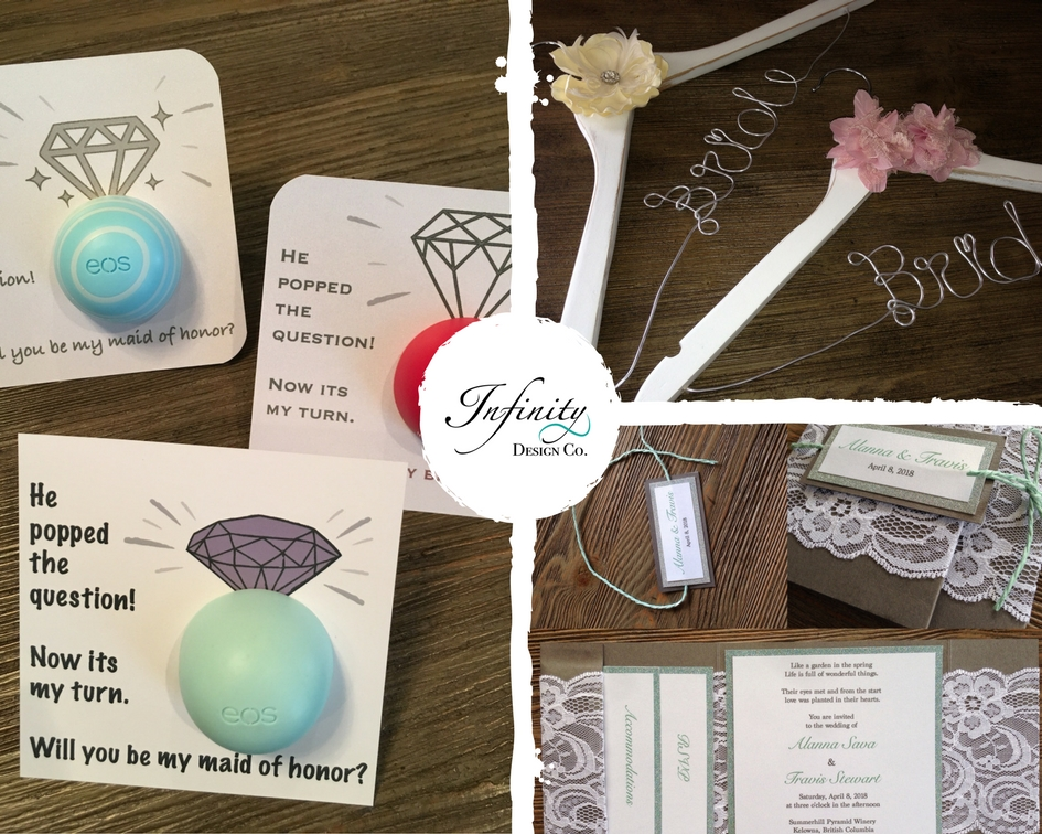 handcrafted custom items for weddings/gifts