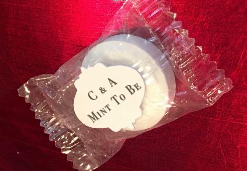Mint Wedding Favour