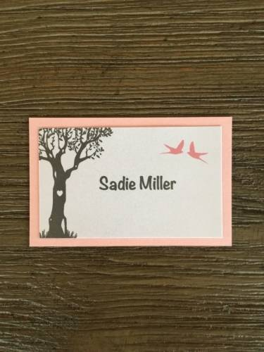 Table Name Card